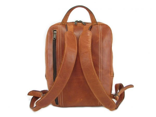 Benjamin Small HP7310 back leather backpack bags, Der Lederhandler, George, Western Cape
