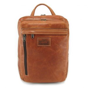 Benjamin Small HP7310 front leather backpack bags, Der Lederhandler, George, Western Cape