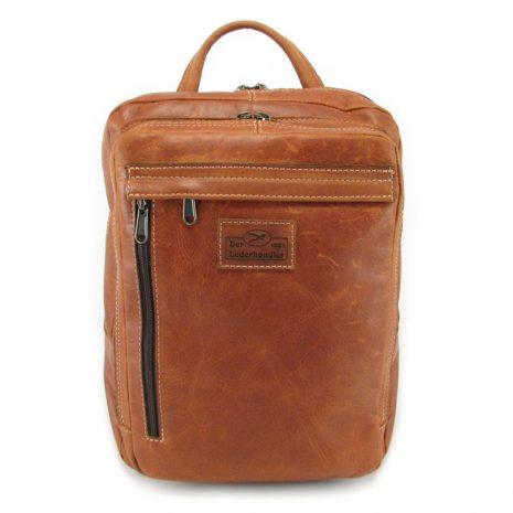 Benjamin Small HP7310 front leather backpack bags, Der Lederhandler, George, Western Cape