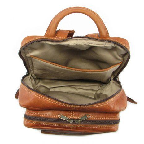 Benjamin Small HP7310 inside leather backpack bags, Der Lederhandler, George, Western Cape