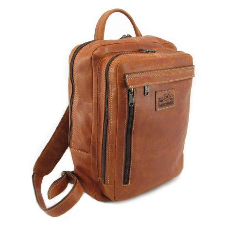 Benjamin Small HP7310 side leather backpack bags, Der Lederhandler, George, Western Cape