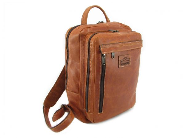 Benjamin Small HP7310 side leather backpack bags, Der Lederhandler, George, Western Cape