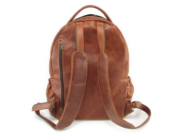 Multi Backpack Large HP7311 back leather backpack bags, Der Lederhandler, George, Western Cape