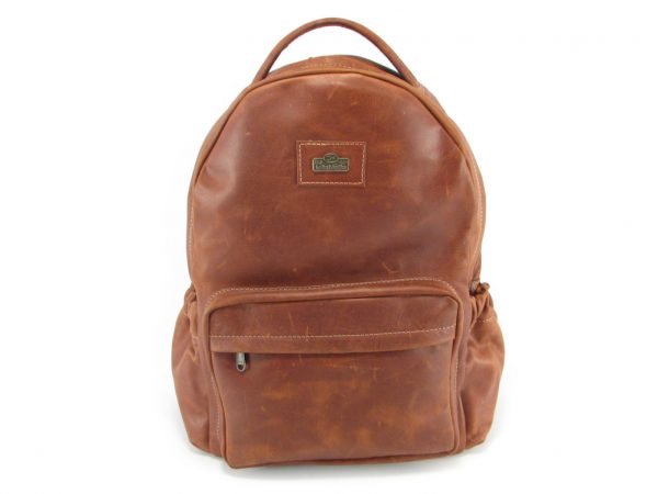 Multi Backpack Large HP7311 front leather backpack bags, Der Lederhandler, George, Western Cape