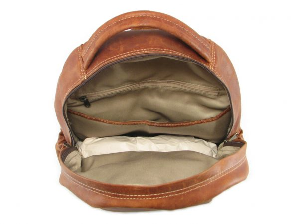 Multi Backpack Large HP7311 inside leather backpack bags, Der Lederhandler, George, Western Cape
