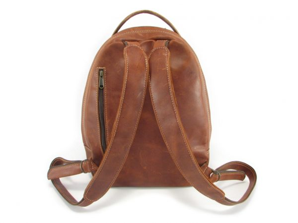 Multi Backpack Medium HP7312 back leather backpack bags, Der Lederhandler, George, Western Cape