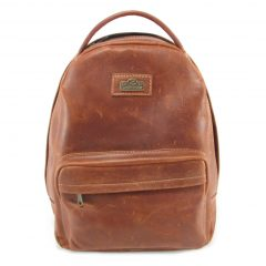 Multi Backpack Medium HP7312 front leather backpack bags, Der Lederhandler, George, Western Cape
