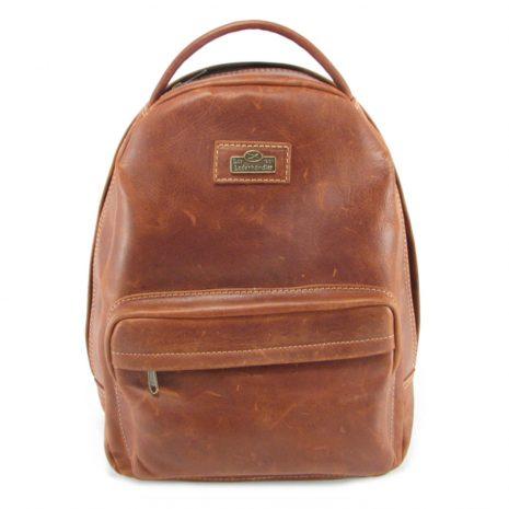 Multi Backpack Medium HP7312 front leather backpack bags, Der Lederhandler, George, Western Cape