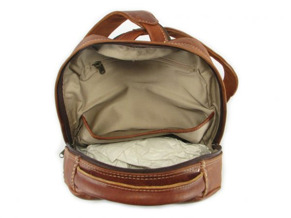 Multi Backpack Medium HP7312 inside leather backpack bags, Der Lederhandler, George, Western Cape