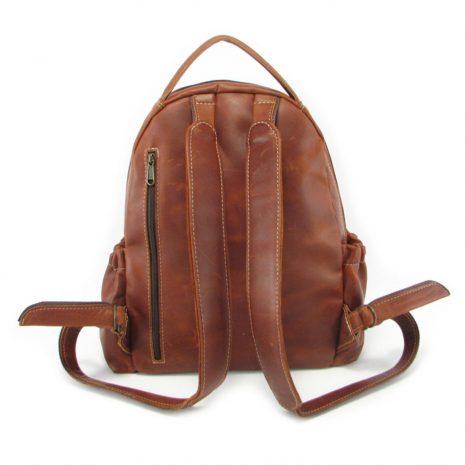Multi Backpack Medium + Side Pockets HP7313 back leather backpack bags, Der Lederhandler, George, Western Cape
