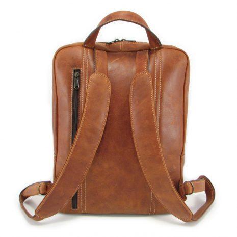 Benjamin Large HP7322 back leather backpack bags, Der Lederhandler, George, Western Cape
