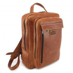 Benjamin Large HP7322 side leather backpack bags, Der Lederhandler, George, Western Cape