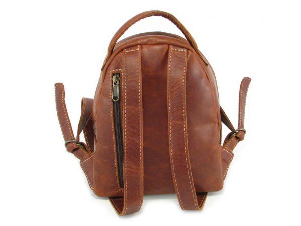 Multi Backpack Small HP7321 back leather backpack bags, Der Lederhandler, George, Western Cape