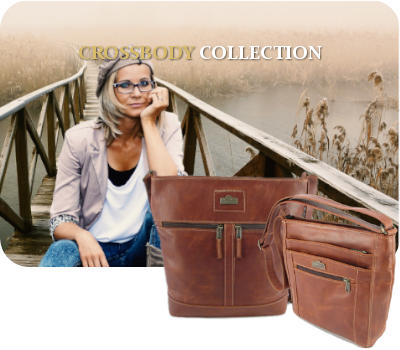 Genuine leather goods and specifically leather crossbody handbags by Der Lederhandler, George, Western Cape