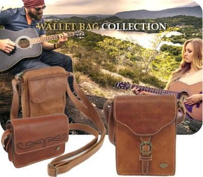 Genuine Leather goods and specifically leather wallet bags and wristlets for men and women by Der Lederhandler, George, Western Cape