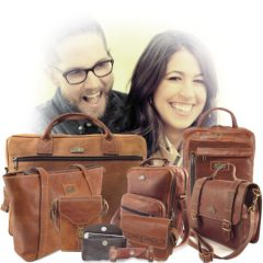 Leather accessories online specifically full grain leather bags by Der Lederhandler, George, Western Cape