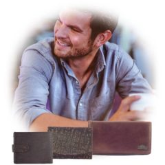 Genuine leather wallets for men and women as part of Der Lederhandler's online accessories - George, Western Cape