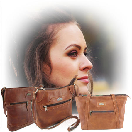 Genuine leather bags and specifically leather bags for women by Der Lederhandler, George, Western Cape
