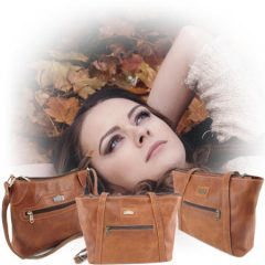 Genuine leather bags and specifically leather handbags for women by Der Lederhandler, George, Western Cape