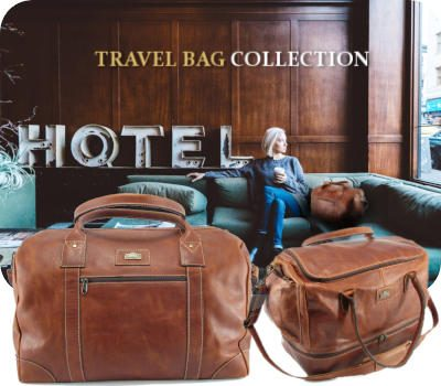 Genuine leather goods and specifically travel bags for men and women - Der Lederhandler, George, Western Cape