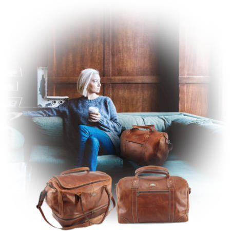 Genuine leather bags and specifically travel bags by Der Lederhandler, George, Western Cape