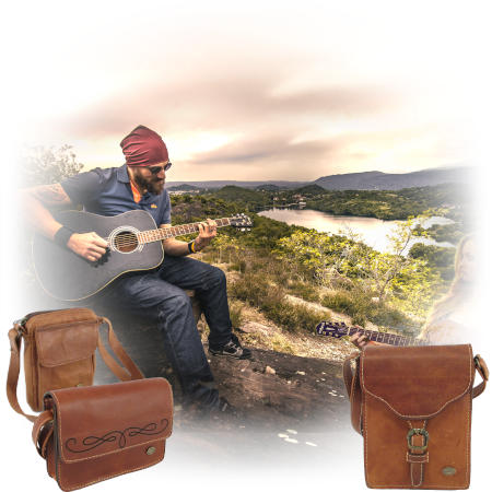 Genuine leather bags and specifically wallet bags by Der Lederhandler, George, Western Cape