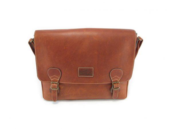 Reggie Large HP7327 front 1 leather tech bags, Der Lederhandler, George, Western Cape