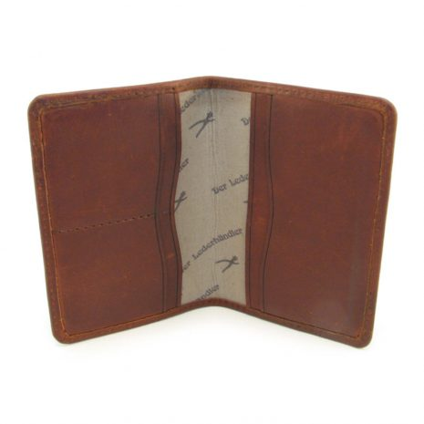 HPGG2086AST Travel Wallet inside curio items, Der Lederhandler, George, Western Cape