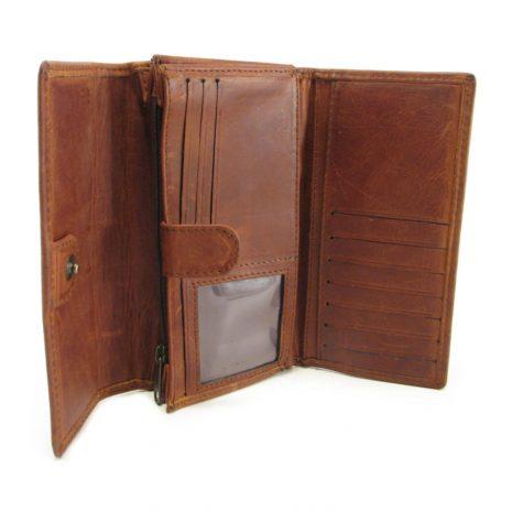 Ladies Wallet No 9 HPLW09 inside ladies purse leather wallets, Der Lederhandler, George, Western Cape