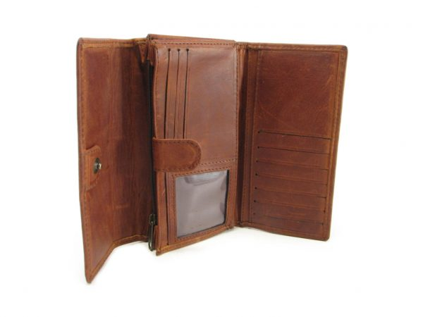 Ladies Wallet No 9 HPLW09 inside ladies purse leather wallets, Der Lederhandler, George, Western Cape