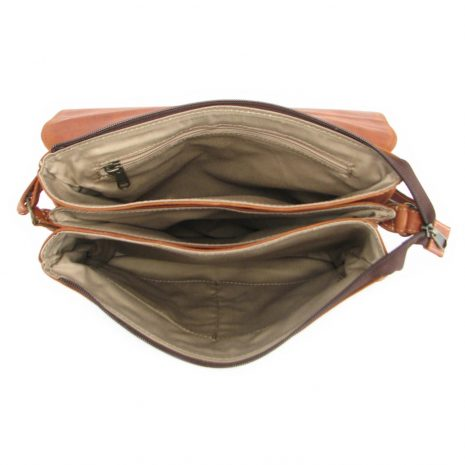 Hannah With Flap HP7336 inside crossbody handbag leather bags women, Der Lederhandler, George, Western Cape