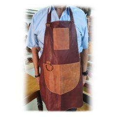 HPGG3030AST Leather Apron No 2 front curio items, Der Lederhandler, George, Western Cape
