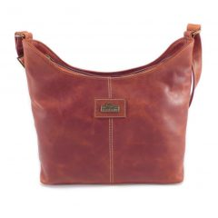 Amber Medium HP7341 front classic handbag leather bags women, Der Lederhandler, George, Western Cape