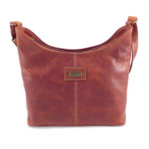Amber Medium HP7341 front classic handbag leather bags women, Der Lederhandler, George, Western Cape