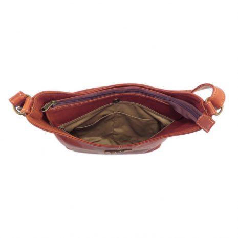 Amber Medium HP7341 inside 2 classic handbag leather bags women, Der Lederhandler, George, Western Cape