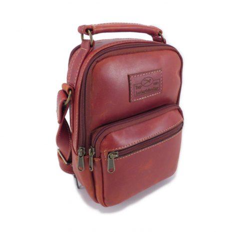 Simon HP7343 side leather bags men, Der Lederhandler, George, Western Cape