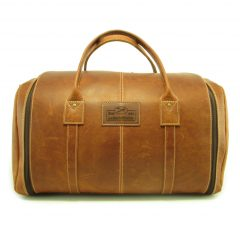 Travel Outdoor Deluxe HP7339 front leather travel bags, Der Lederhandler, George, Western Cape