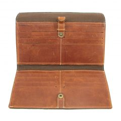 HPCW01 Cell Phone Wallet No 1 inside1 small leather pouches, Der Lederhandler, George, Western Cape