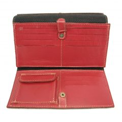 HPCW04 Cell Phone Wallet No 4 Coin inside1 small leather pouches, Der Lederhandler, George, Western Cape