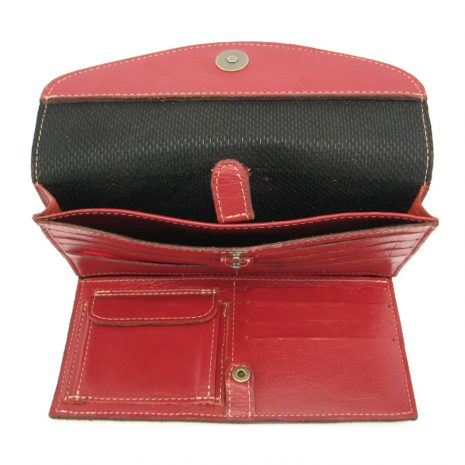 HPCW04 Cell Phone Wallet No 4 Coin inside2 small leather pouches, Der Lederhandler, George, Western Cape