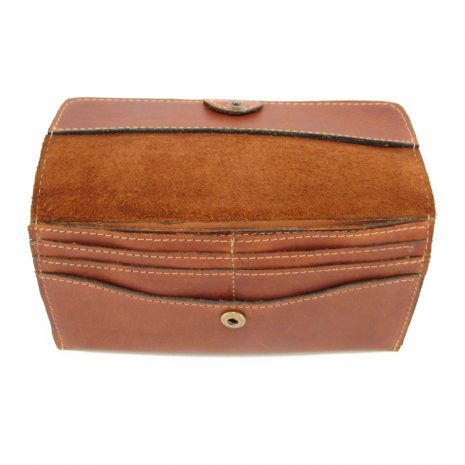Ladies Wallet No 10 HPLW10 inside ladies purse leather wallets, Der Lederhandler, George, Western Cape