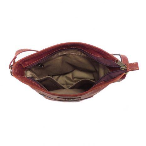 Hilda Medium HP7346 inside crossbody handbag leather bags women, Der Lederhandler, George, Western Cape