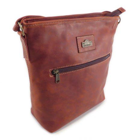Hilda Medium HP7346 side crossbody handbag leather bags women, Der Lederhandler, George, Western Cape