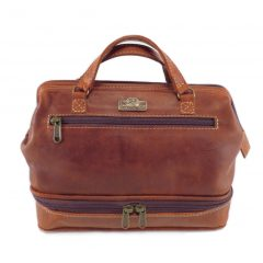 Toiletry Bag No 6 HP7348 front small leather pouches, Der Lederhandler, George, Western Cape