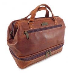 Toiletry Bag No 6 HP7348 side small leather pouches, Der Lederhandler, George, Western Cape