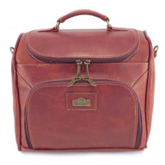 Vanity Case HP7349 front small leather pouches, Der Lederhandler, George, Western Cape