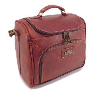 Vanity Case HP7349 side small leather pouches, Der Lederhandler, George, Western Cape