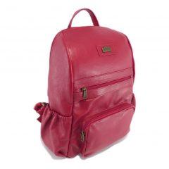 Bianca Backpack HP7352 side leather backpack bags, Der Lederhandler, George, Western Cape
