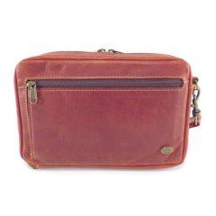 Jaydee Wrist Extra Large Pistol Cards HP7355 front leather wallet bags, Der Lederhandler, George, Western Cape