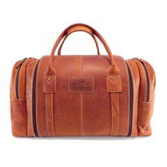 Travel Outdoor Master HP7353 front leather travel bags, Der Lederhandler, George, Western Cape